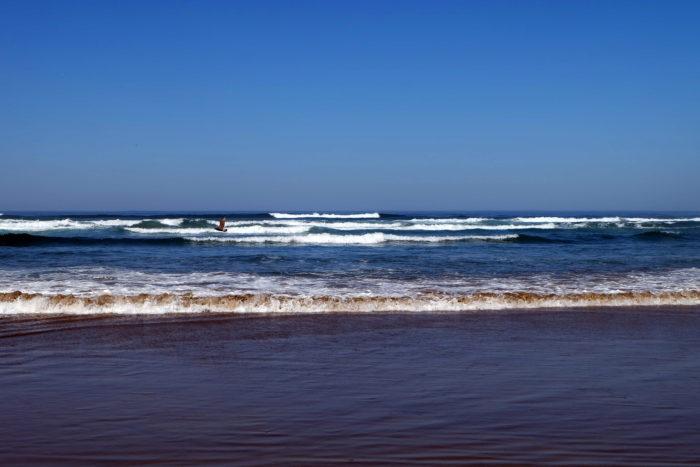 océan pacifique écriture rédaction horizon vide