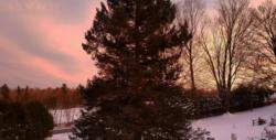 vivre à la campagne coucher de soleil home sweet home